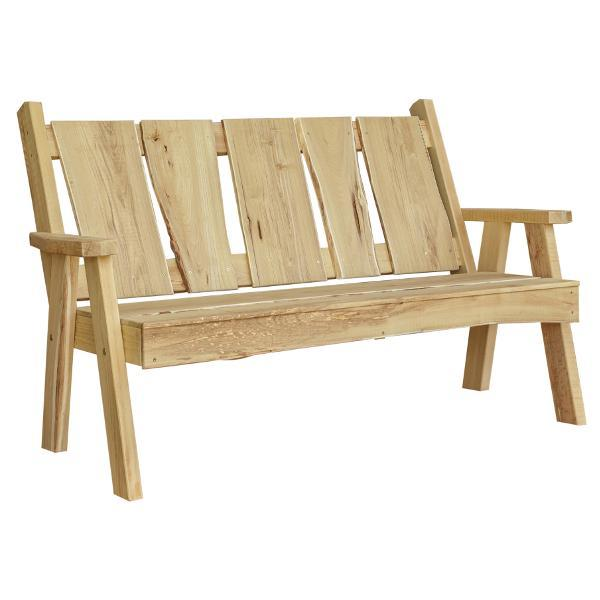 A & L Furniture Timberland Garden Bench Garden Benches 5ft / Unfinished