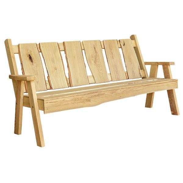 A & L Furniture Timberland Garden Bench Garden Benches 6ft / Unfinished