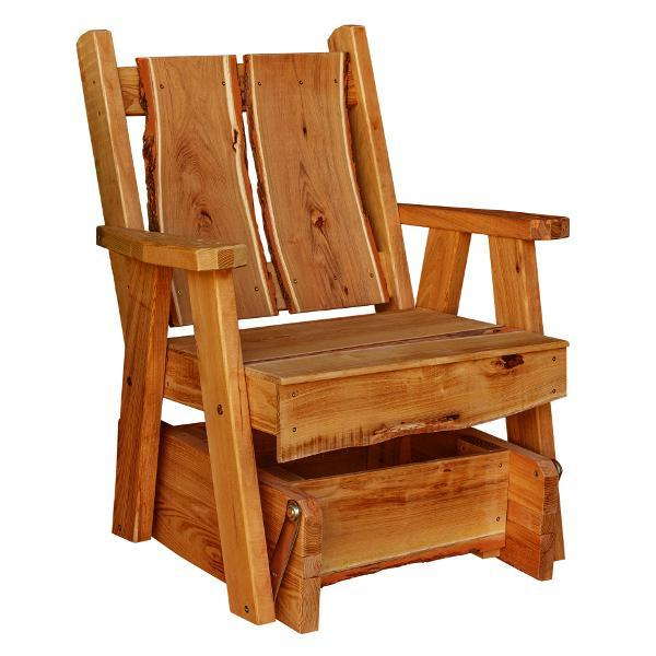 A & L Furniture Timberland Glider Chair Glider Chair Cedar