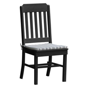A & L Furniture Traditional Dining Chair Outdoor Chairs Black
