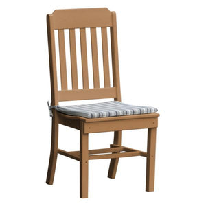 A & L Furniture Traditional Dining Chair Outdoor Chairs Cedar