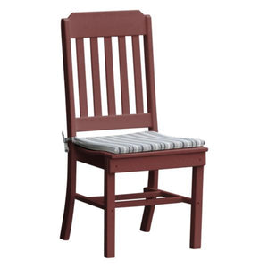 A & L Furniture Traditional Dining Chair Outdoor Chairs Cherrywood
