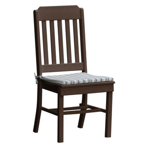 A & L Furniture Traditional Dining Chair Outdoor Chairs Tudor Brown