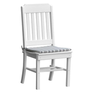 A & L Furniture Traditional Dining Chair Outdoor Chairs White