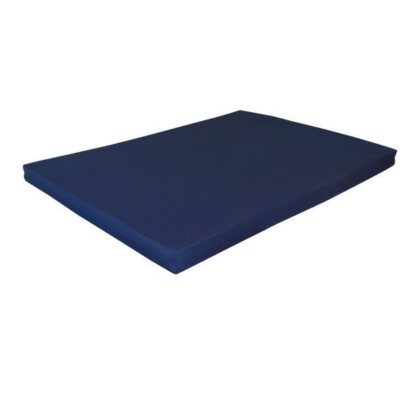 "A & L Furniture VersaLoft Bed Cushion 4"" Thick Cushions & Pillows Full / Navy Blue"
