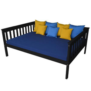 A & L Furniture VersaLoft Mission Daybed Daybed Full / Black