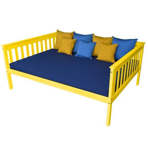 A & L Furniture VersaLoft Mission Daybed Daybed Full / Canary Yellow