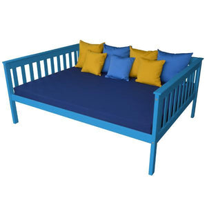 A & L Furniture VersaLoft Mission Daybed Daybed Full / Caribbean Blue