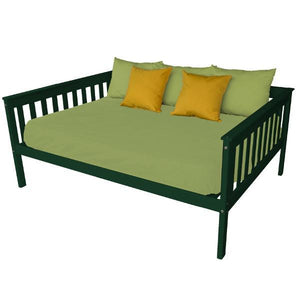 A & L Furniture VersaLoft Mission Daybed Daybed Full / Dark Green