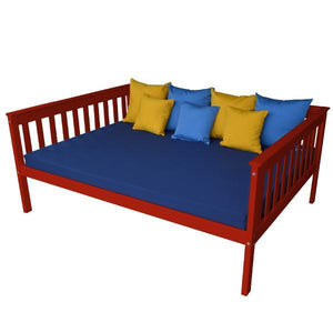 A & L Furniture VersaLoft Mission Daybed Daybed Full / Tractor Red