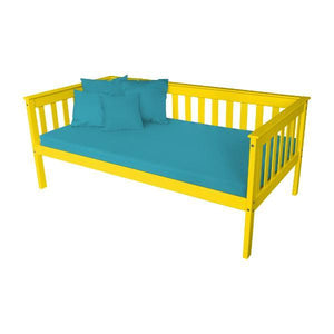 A & L Furniture VersaLoft Mission Daybed Daybed Twin / Canary Yellow