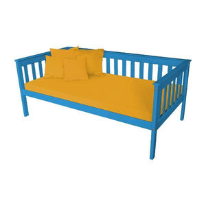 A & L Furniture VersaLoft Mission Daybed Daybed Twin / Caribbean Blue