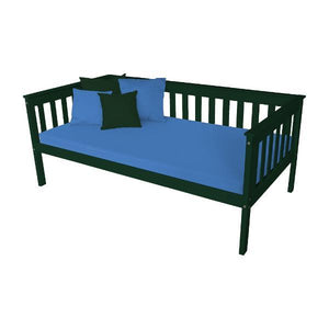 A & L Furniture VersaLoft Mission Daybed Daybed Twin / Dark Green