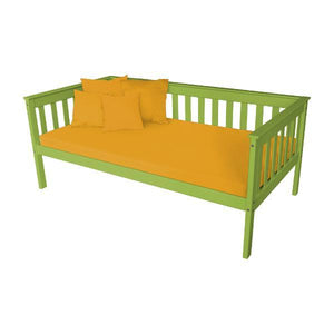 A & L Furniture VersaLoft Mission Daybed Daybed Twin / Lime Green