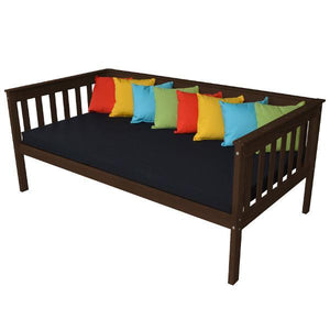 A & L Furniture VersaLoft Mission Daybed Daybed Twin / Rich Tobacco