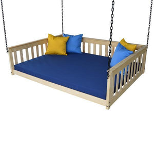 A & L Furniture VersaLoft Mission Hanging Daybed with Chain Daybed Full / Unfinished
