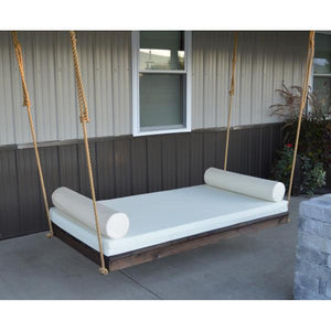 A & L Furniture Western Red Cedar Twin Mattress Newport Bed Swing Beds Unfinished