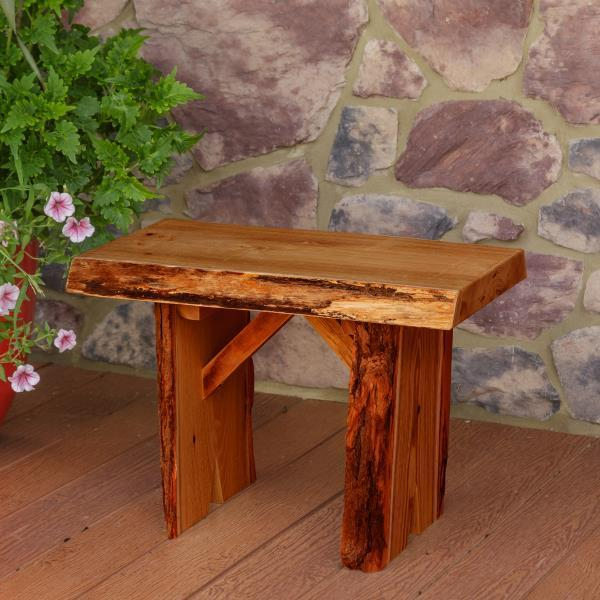 A & L Furniture Wildwood Bench Garden Benches 2ft / Cedar