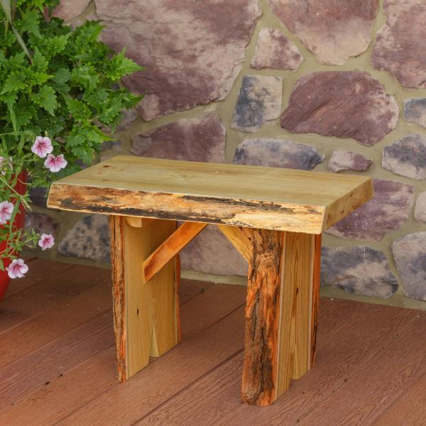 A & L Furniture Wildwood Bench Garden Benches 2ft / Natural