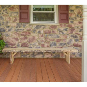 A & L Furniture Wildwood Bench Garden Benches 2ft / Unfinished