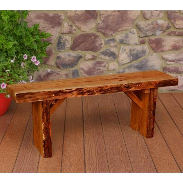 A & L Furniture Wildwood Bench Garden Benches 4ft / Cedar