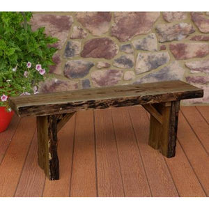A & L Furniture Wildwood Bench Garden Benches 4ft / Mushroom