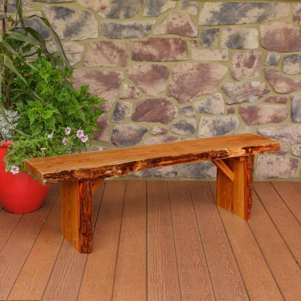 A & L Furniture Wildwood Bench Garden Benches 5ft / Cedar