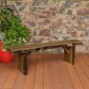 A & L Furniture Wildwood Bench Garden Benches 5ft / Mushroom