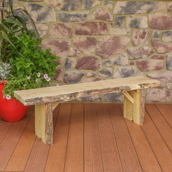 A & L Furniture Wildwood Bench Garden Benches 5ft / Unfinished
