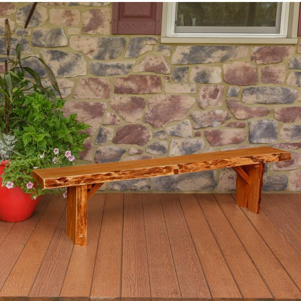 A & L Furniture Wildwood Bench Garden Benches 6ft / Cedar