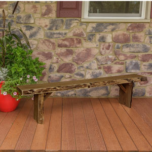A & L Furniture Wildwood Bench Garden Benches 6ft / Mushroom