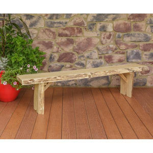 A & L Furniture Wildwood Bench Garden Benches 6ft / Unfinished