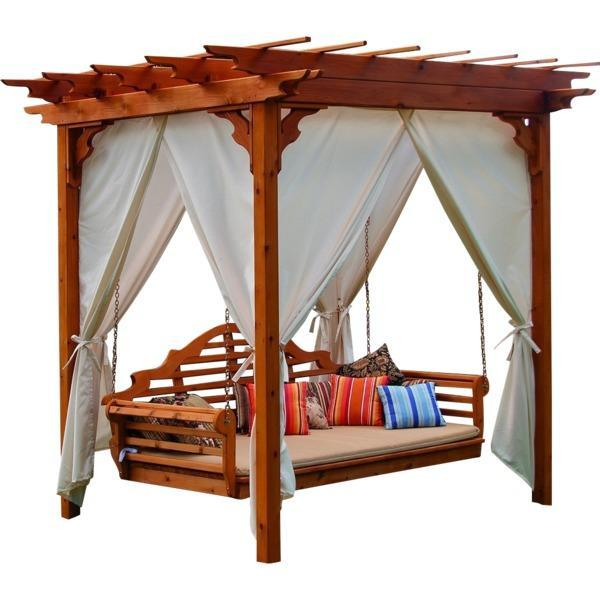 But The A Amp L Pergola Curtains Online The Charming Bench