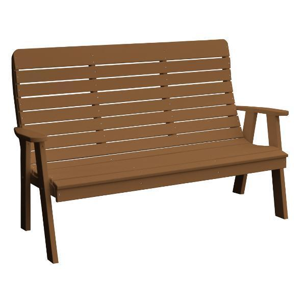 A&L Poly Color Samples Garden Bench