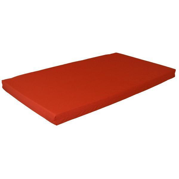 A & L Swing Bed Cushions Cushions 5ft / Red