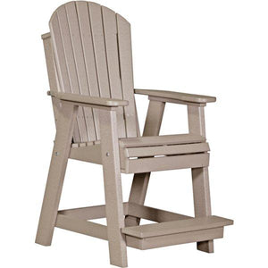 Adirondack Balcony Chair Adirondack Chair Weatherwood