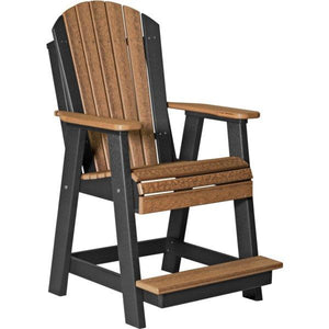 Adirondack Balcony Chair Adirondack Chair Antique Mahogany & Black