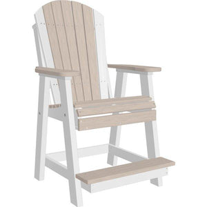 Adirondack Balcony Chair Adirondack Chair Birch & White
