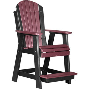 Adirondack Balcony Chair Adirondack Chair Cherrywood & Black