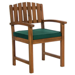 All Things Cedar 5-Piece Butterfly Dining Chair Set & Cushion dining set Green