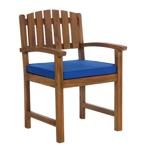 All Things Cedar 7-Piece Rectangle Dining Chair Set & Cushion dining set Blue