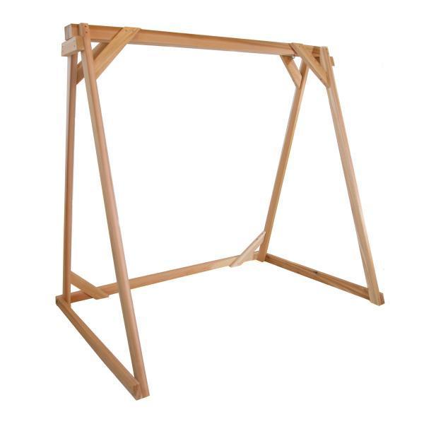 All Things Cedar A-Frame For Swing Stand Support Porch Swing Stands 6ft
