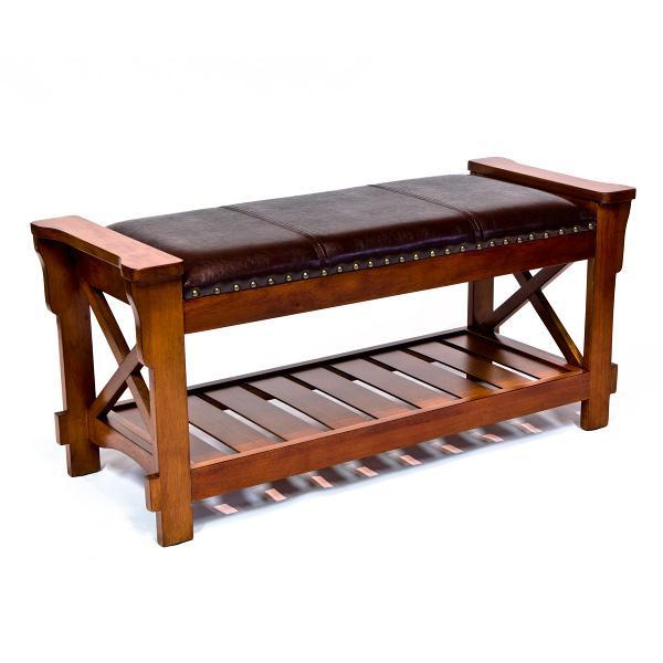 Stupendous All Things Cedar Cherry Entryway Bench Short Links Chair Design For Home Short Linksinfo