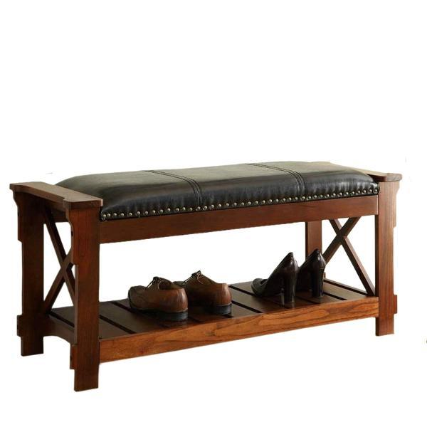 All Things Cedar Cherry Shoe Bench Storage Benches