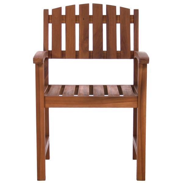 All Things Cedar Teak Dining Chair Outdoor Chairs