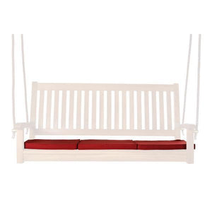 All Things Cedar Teak Swing Cushion Cushions Red