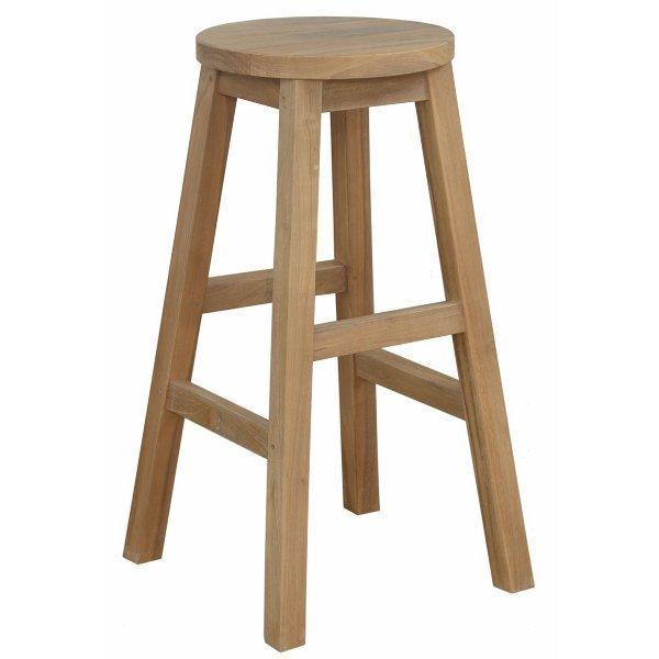 Anderson Teak Alpine Round Counter Stool bar stool