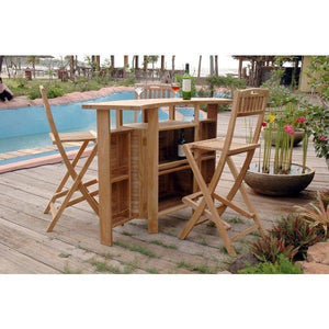 Anderson Teak Altavista 5-Pieces Bar Set Bar Set