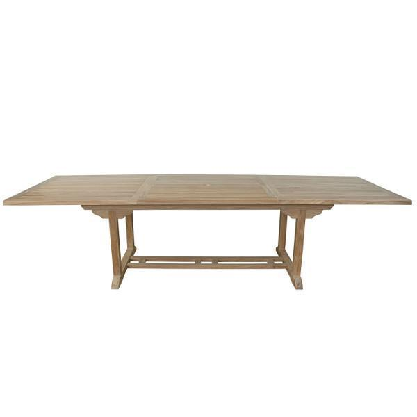 Anderson Teak Bahama 10-Foot Rectangular Extension Table Outdoor Tables