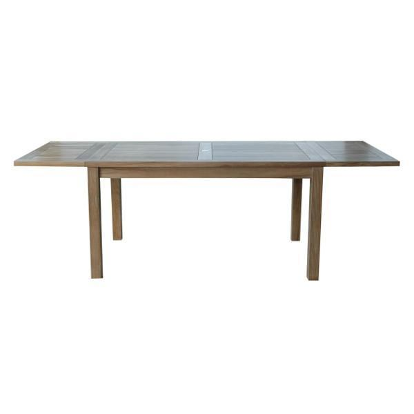 "Anderson Teak Bahama 95"" Rectangular Table With Double Leaf Extensions tables"